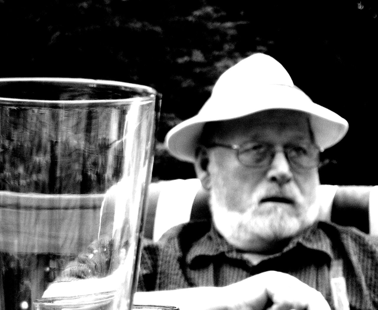 William Kemmett 2009, at Richard Martin's house with Peter Kidd